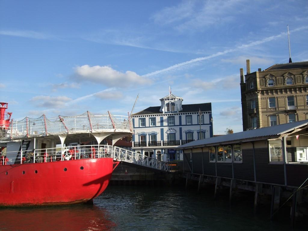 Lovely spot: Pier Hotel, Harwich