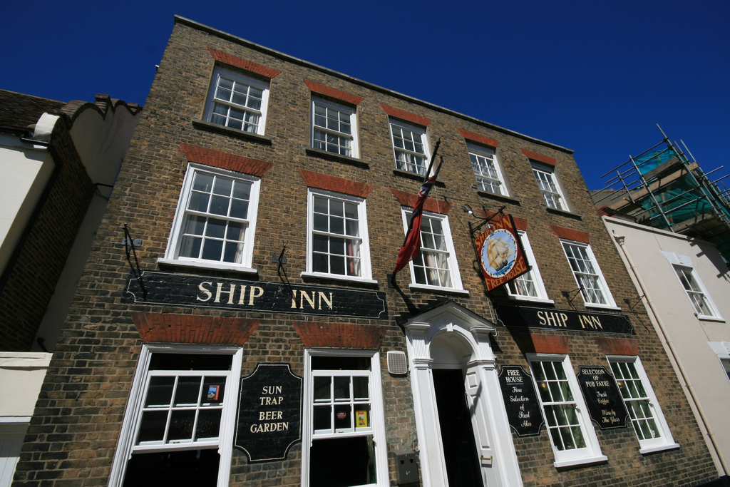 Unmissable: Deal's famous old town boozer The Ship Inn. Photo: Flickr