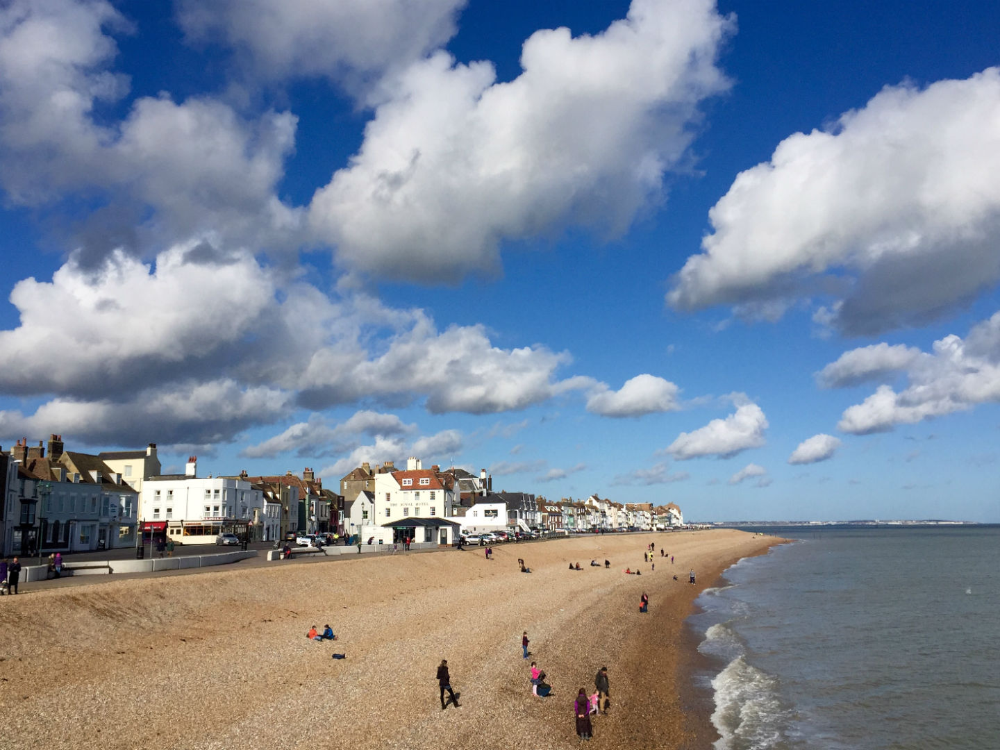 The Royal Hotel on the seafront is where Nelson stayed with his missus. Photo: SE