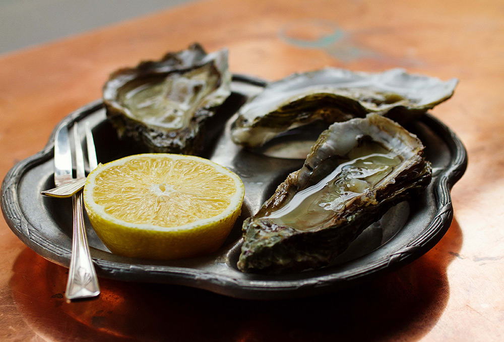 Colchester Rock oysters. Photo: PR