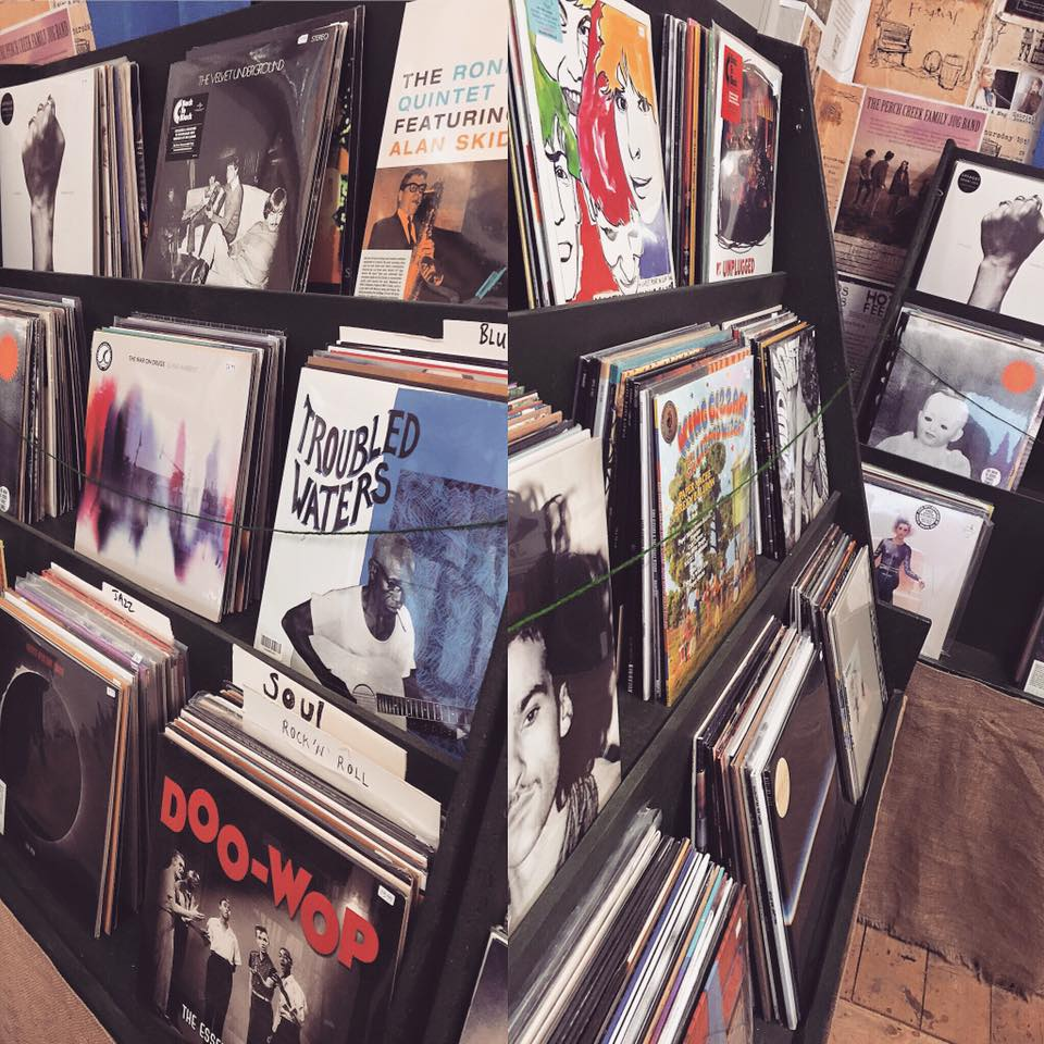 Smugglers Records sells vinyl, CDs and craft beer. Photo: Facebook