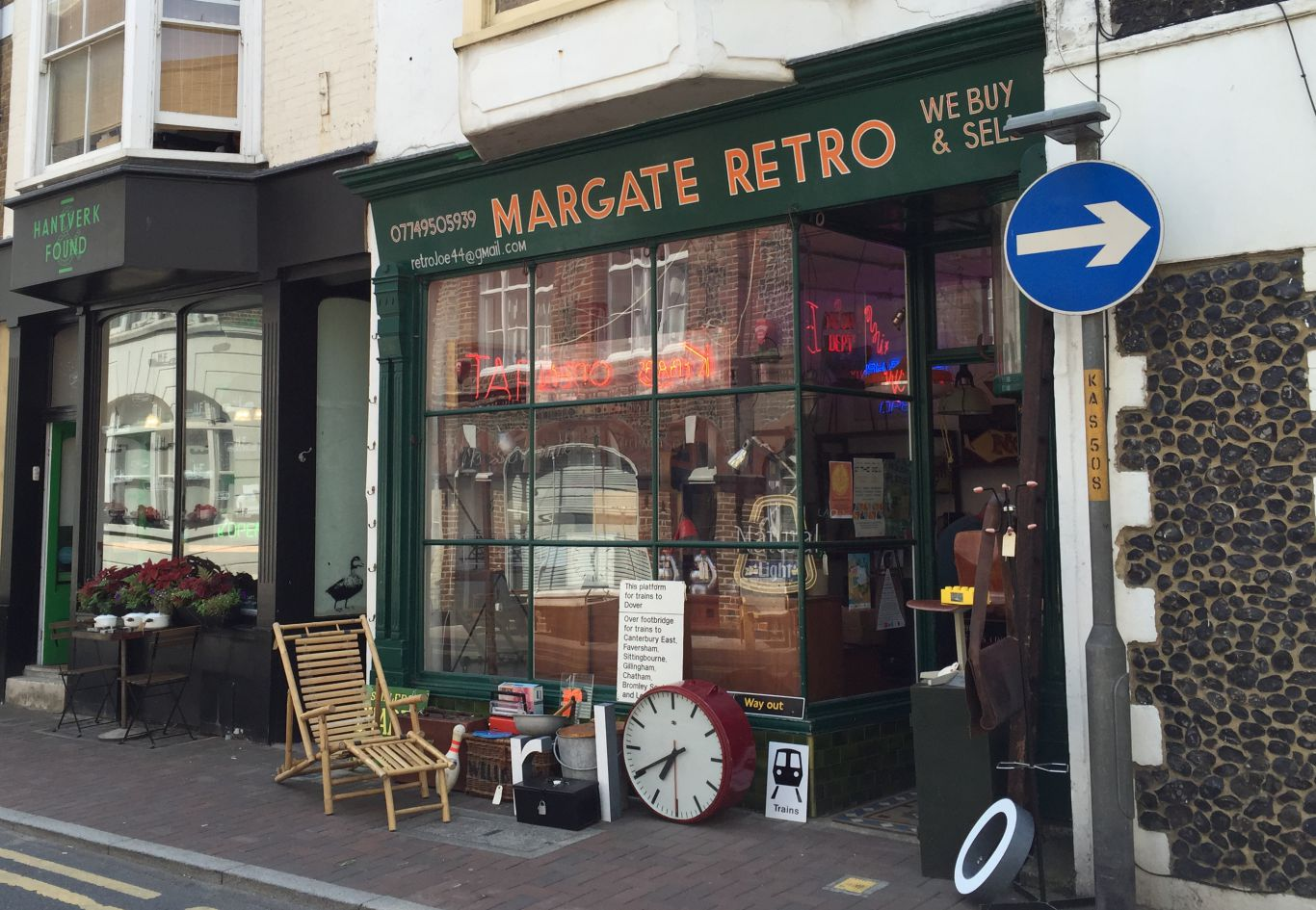 Margate Retro has been on King Street, the town's cutest thoroughfare, for several years. Photo: SE