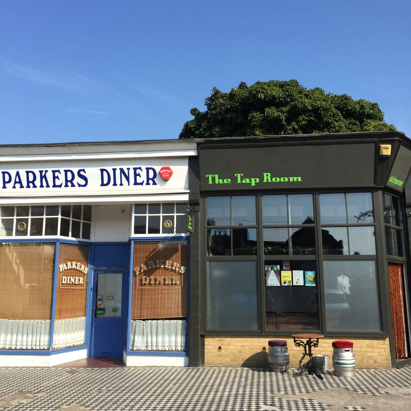 The Tap Room, off Northdown Road. Photo: Stephen Emms