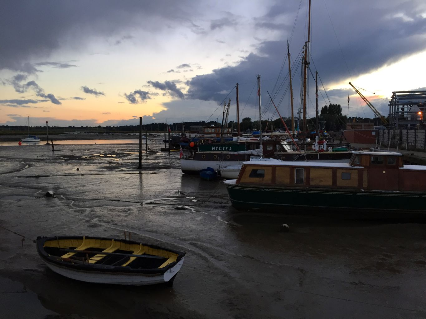 Drink in that sunset: the view looking out from the Tide Mill. Photo: Stephen Emms