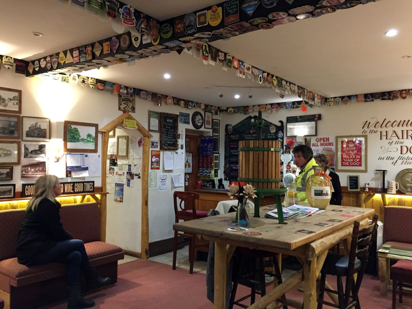 Hair of the Dog is the town's charming micropub. Photo: SE